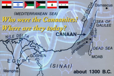 Who were the Canaanites and where are they today?
