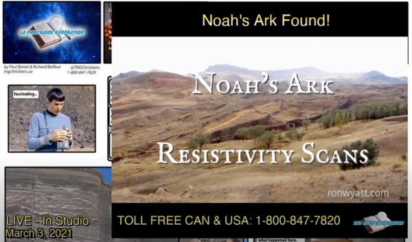 Noah's Ark Resistivity Scans